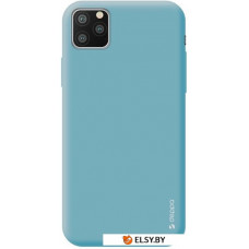Чехол Deppa Gel Color Case для Apple iPhone 11 Pro Max (голубой)