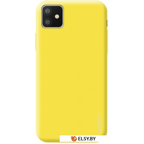 Чехол Deppa Gel Color Case для Apple iPhone 11 (желтый)